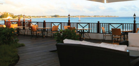 The Dining Deck at Sea Breeze Beach Hotel, Maxwell Coast Road, Christ Church, Barbados Pocket Guide