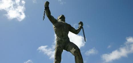 Statue Of Bussa Barbados Pocket Guide