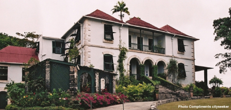 Francia Plantation House Barbados Pocket Guide