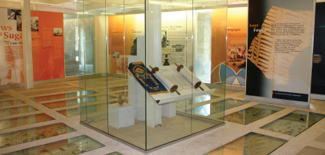 Items on Display at the Nidhe Israel Museum, Bridgetown, Barbados Pocket Guide