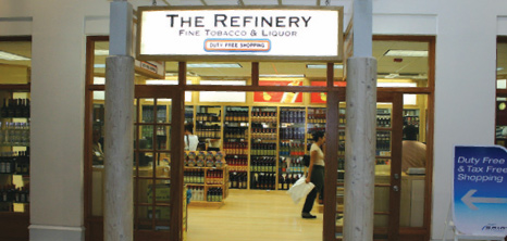 The Refinery at Grantley Adams International Airport, Barbados Pocket Guide