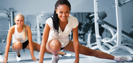 Ladies Working Out at the Gym, Barbados Pocket Guide