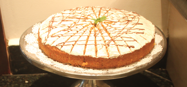 Carrot Cake, Savannah Beach Hotel, Barbados