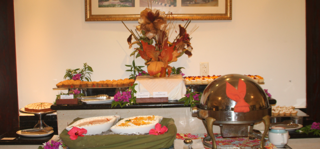 Dessert Buffet at Savannah Beach Hotel, Barbados