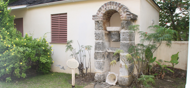 Dripstones, George Washington House, Barbados