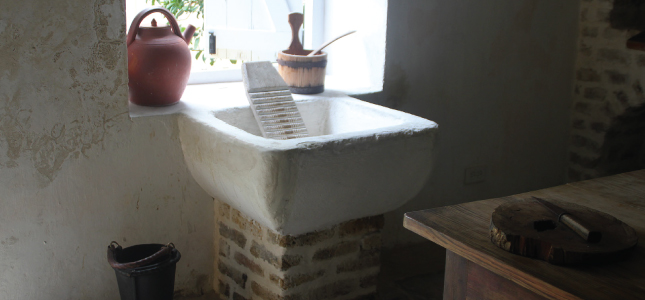 Laundry Sink of Years Gone By, George Washington House, Barbados