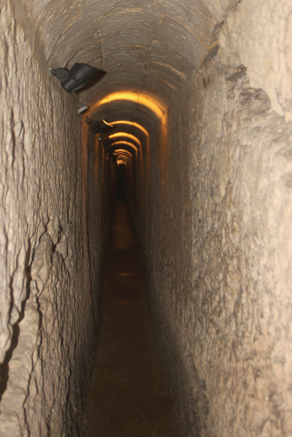 Underground Tunnels at George Washington House, Barbados