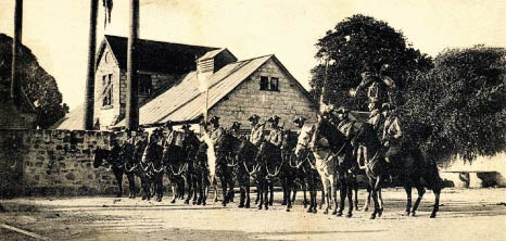 Mounted Military, Barbados Pocket Guide