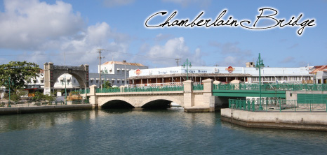 Chamberlain Bridge, Bridgetown, Barbados Pocket Guide