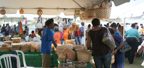 Craft Villages at Agrofest, Queen's Park, Bridgetown, St. Michael, Barbados Pocket Guide