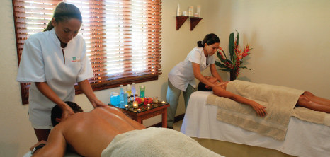 Masseuses at Sugar Cane Hotel Clucb & Spa, St. Peter, Barbados Pocket Guide